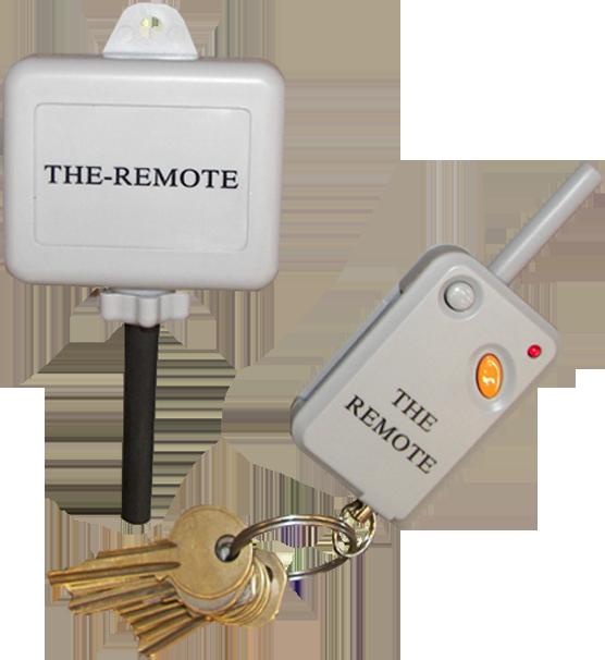 THE-REMOTE   A universal wildlife feeder remote control